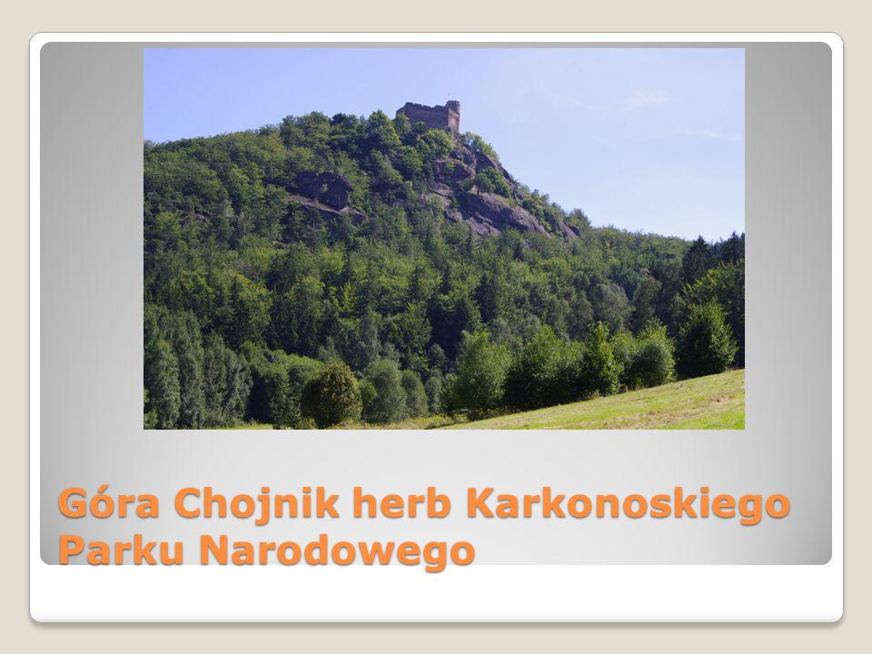 Góra Chojnik herb Karkonoskiego Parku Narodowego