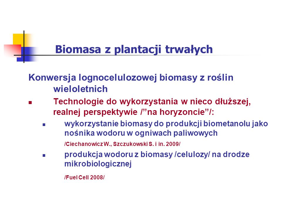 Biomasa z plantacji trwałych