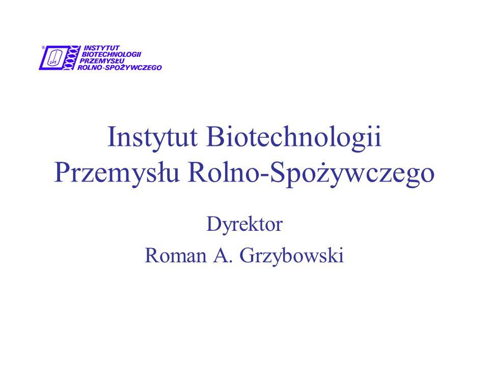 Instytut Biotechnologii Przemysłu Rolno-Spożywczego