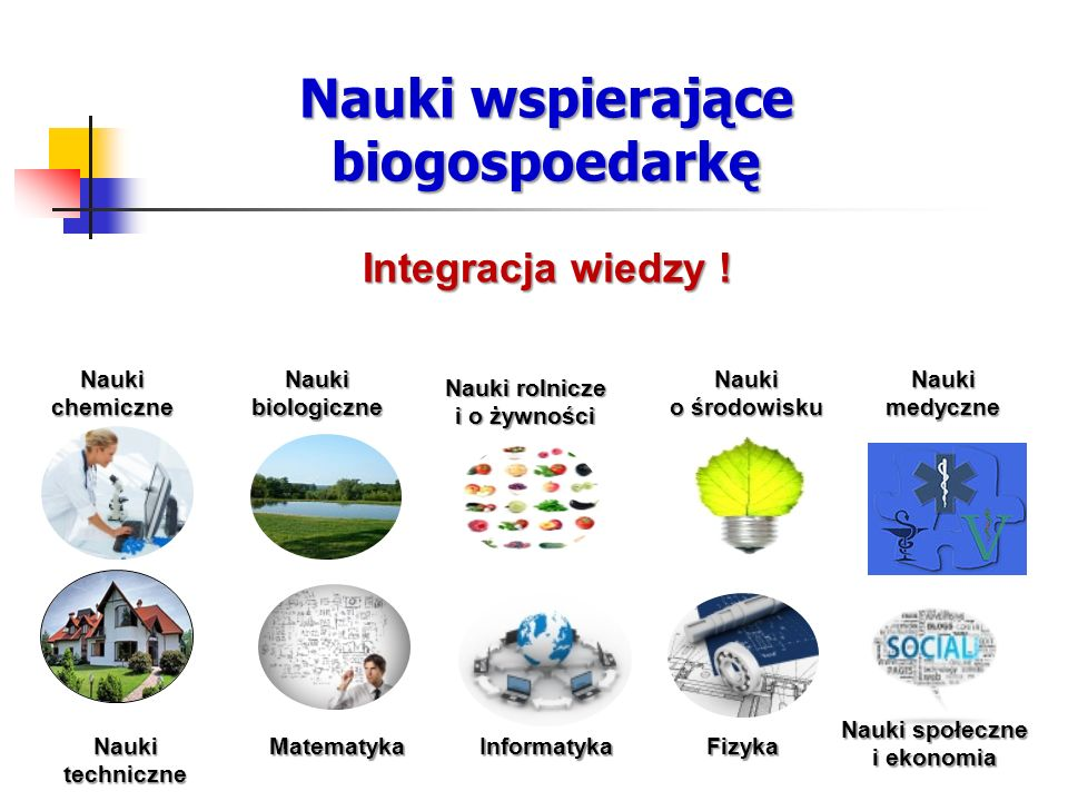Nauki wspierające biogospoedarkę