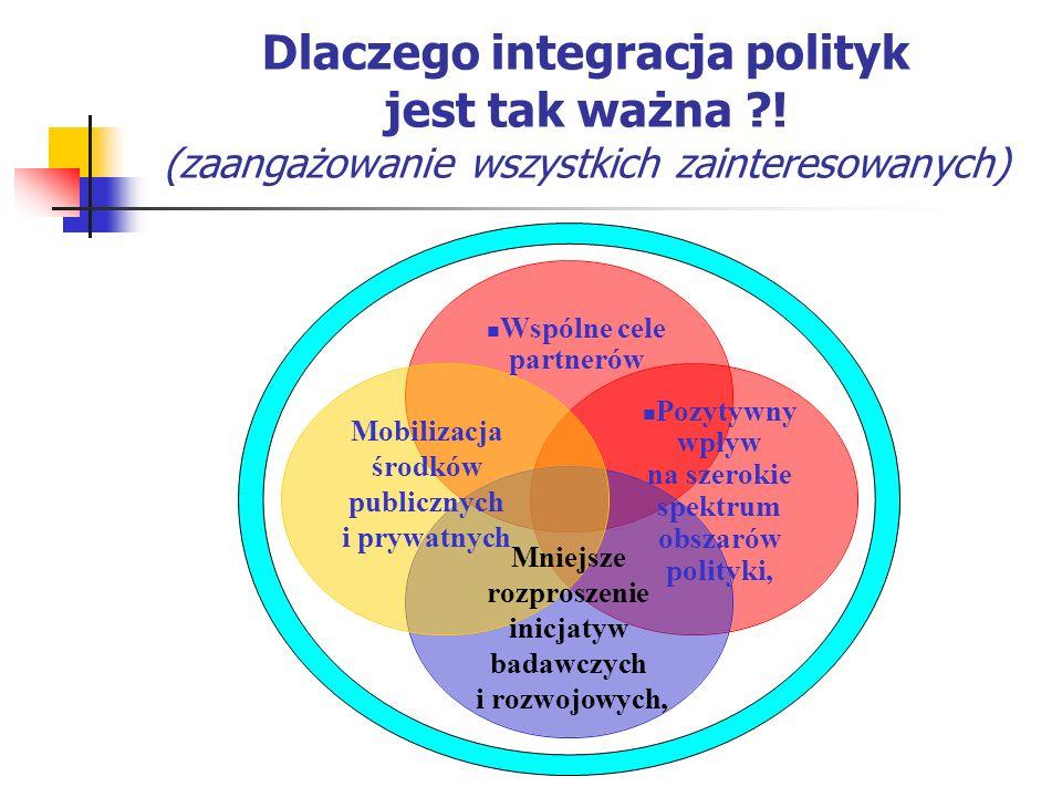 Dlaczego integracja polityk jest tak ważna