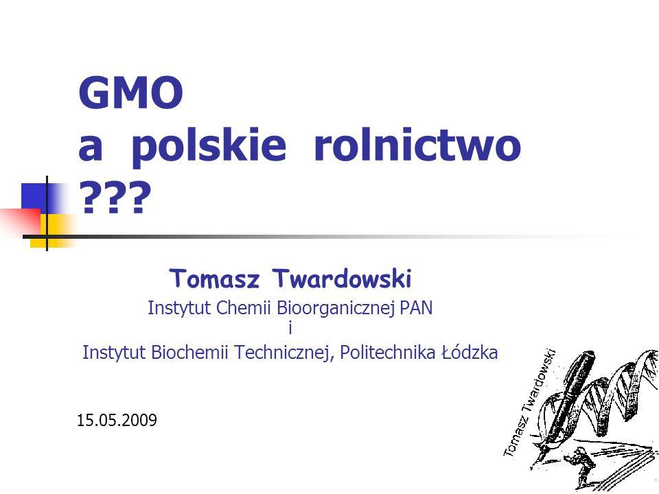 GMO a polskie rolnictwo