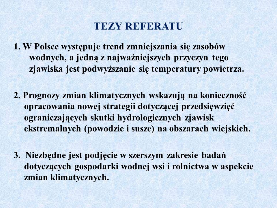 TEZY REFERATU