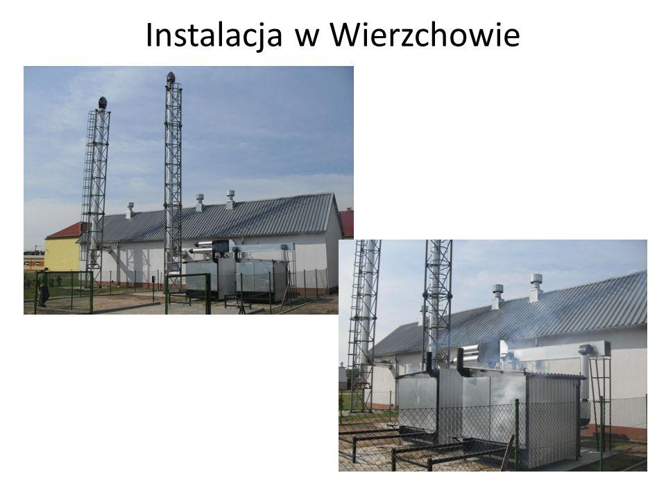 Instalacja w Wierzchowie