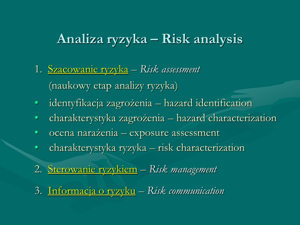 Analiza ryzyka – Risk analysis