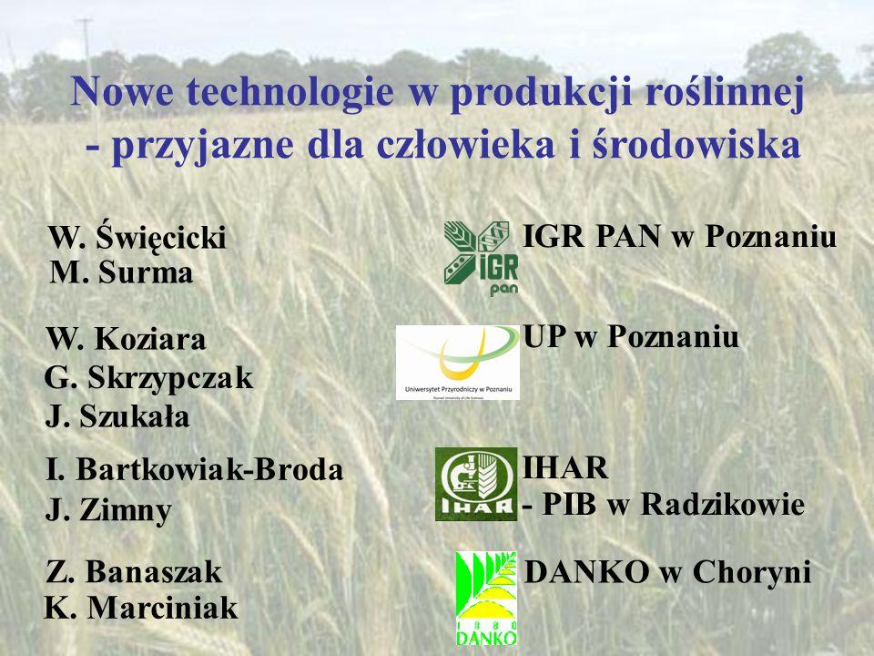 Nowe technologie w produkcji roślinnej