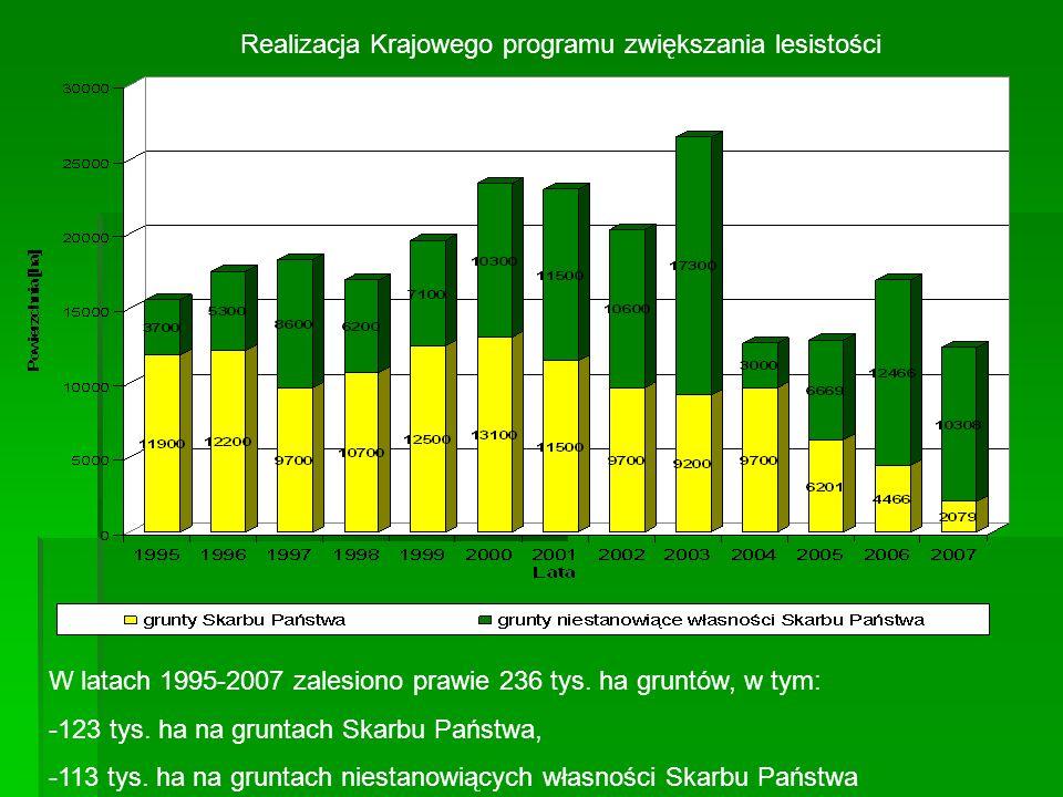 Realizacja Krajowego programu zwiększania lesistości