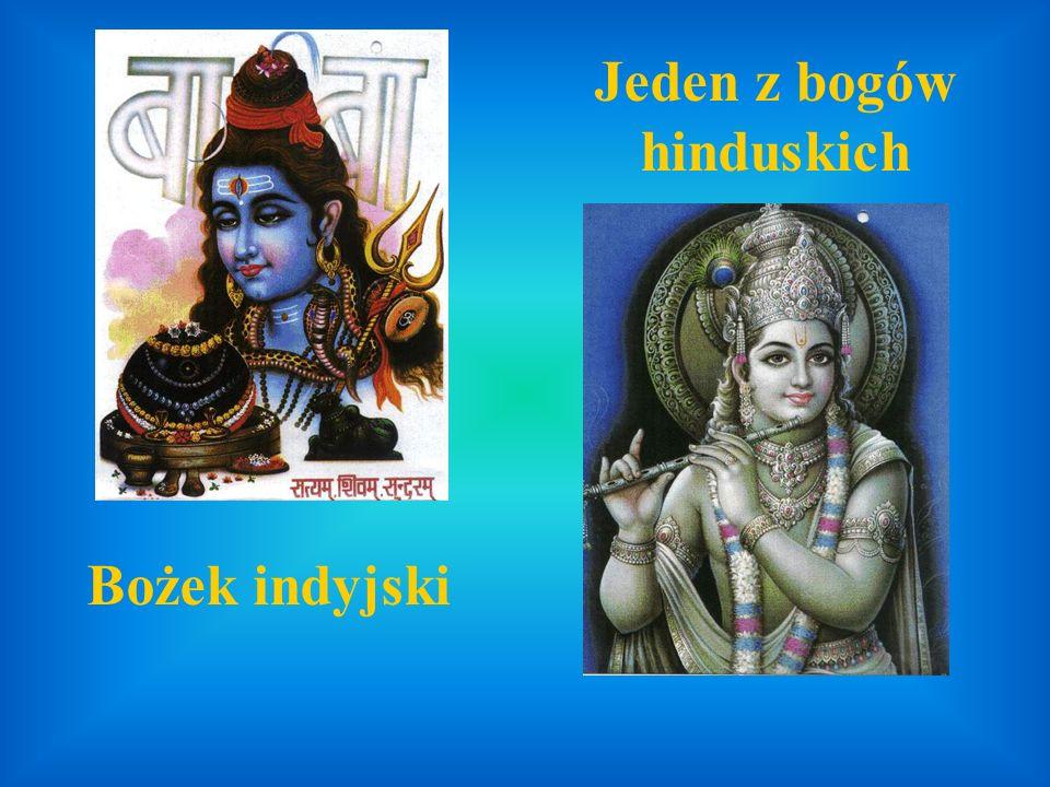 Jeden z bogów hinduskich