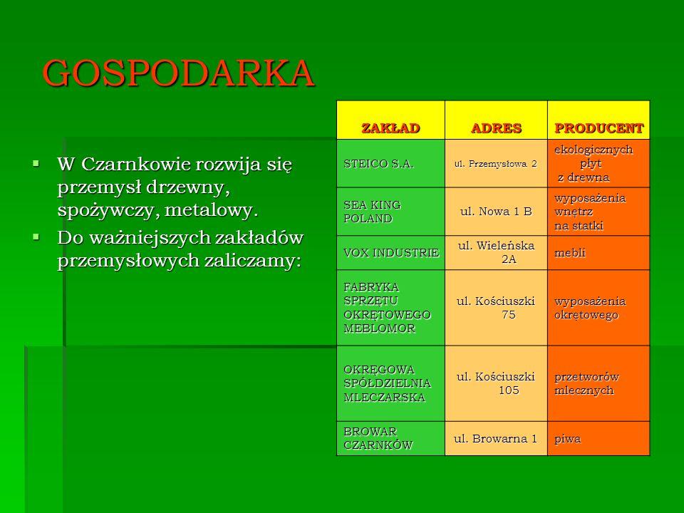 GOSPODARKA ZAKŁAD. ADRES. PRODUCENT. STEICO S.A. ul. Przemysłowa 2. ekologicznych płyt. z drewna.
