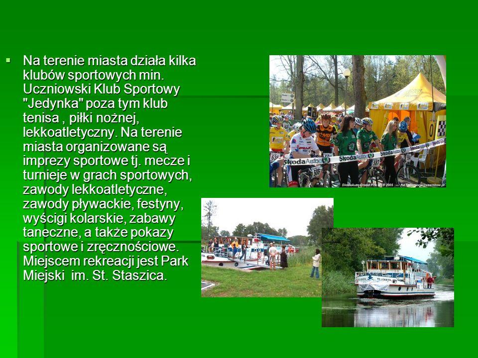 Na terenie miasta działa kilka klubów sportowych min