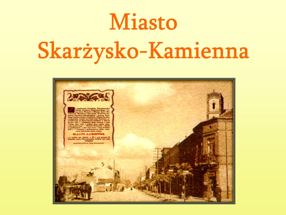 Miasto Skarżysko-Kamienna
