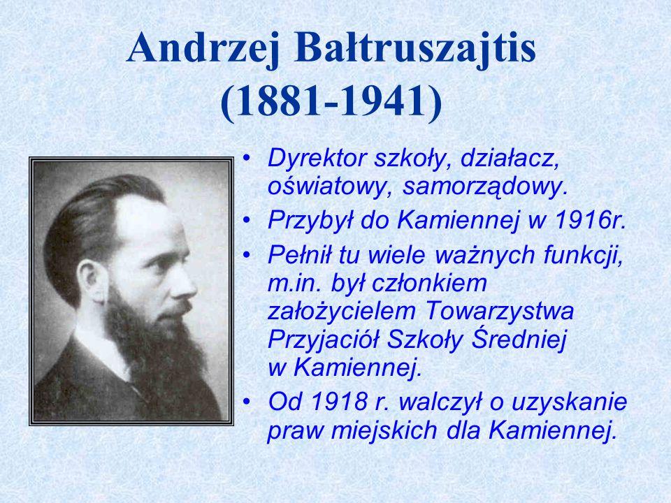 Andrzej Bałtruszajtis (1881-1941)