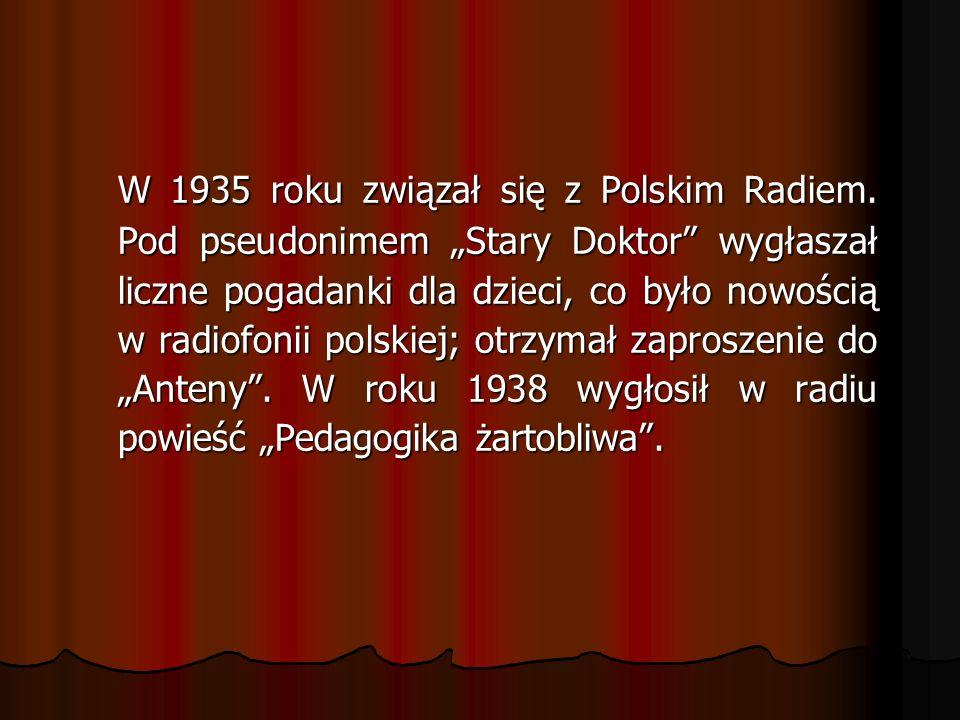W 1935 roku związał się z Polskim Radiem