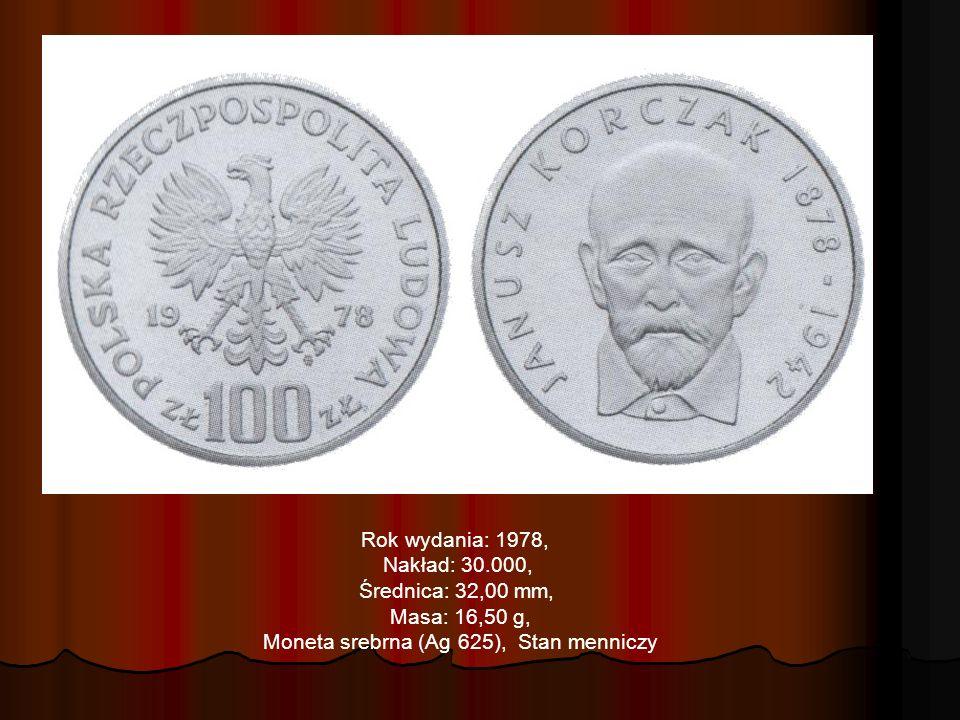 Moneta srebrna (Ag 625), Stan menniczy