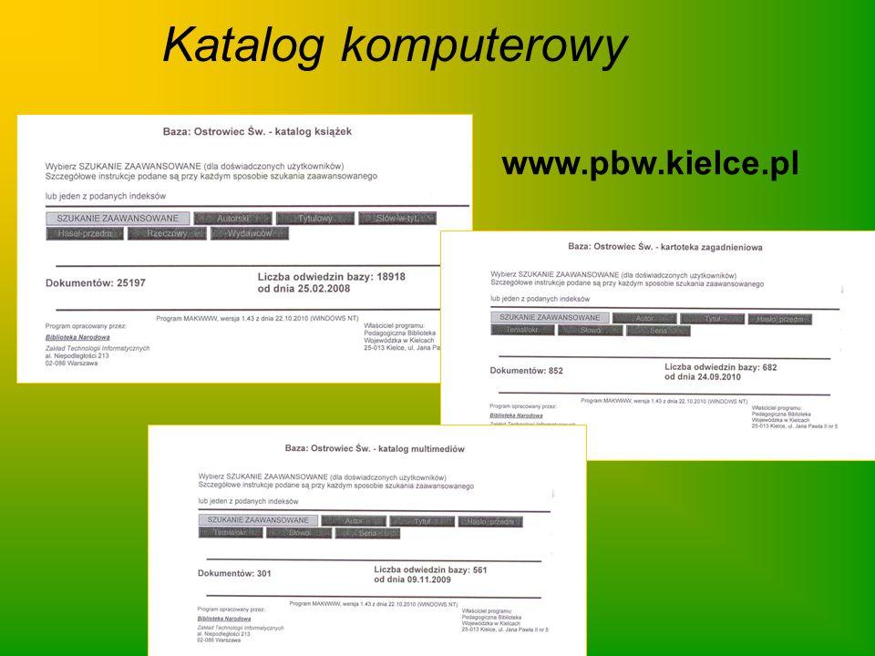 Katalog komputerowy www.pbw.kielce.pl