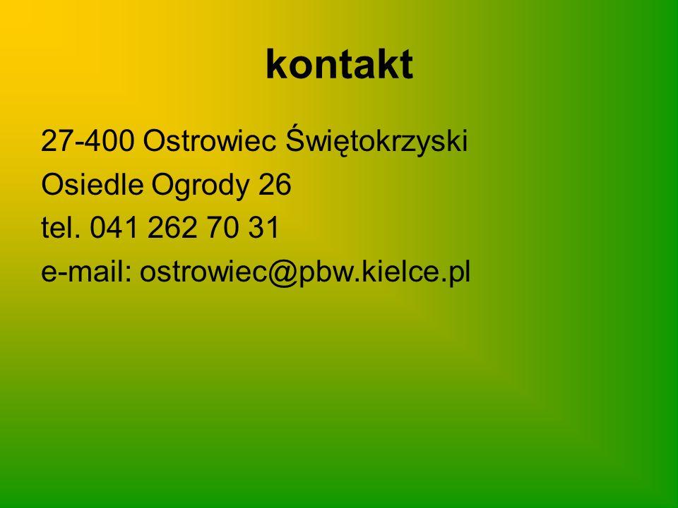 kontakt 27-400 Ostrowiec Świętokrzyski Osiedle Ogrody 26