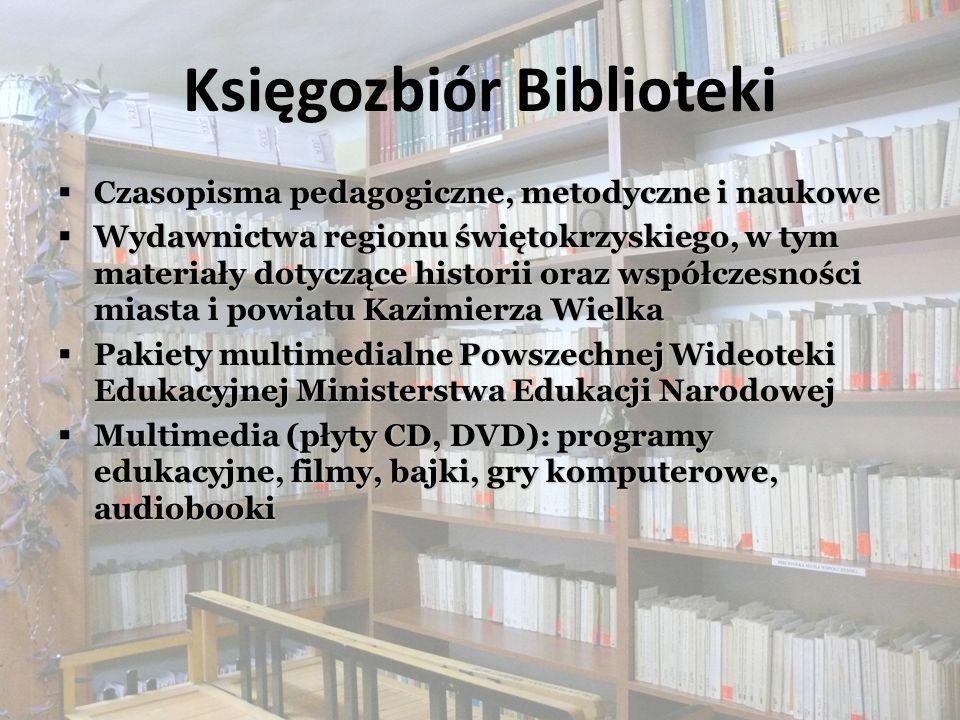 Księgozbiór Biblioteki