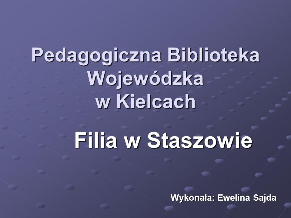 Pedagogiczna Biblioteka Wojewódzka w Kielcach