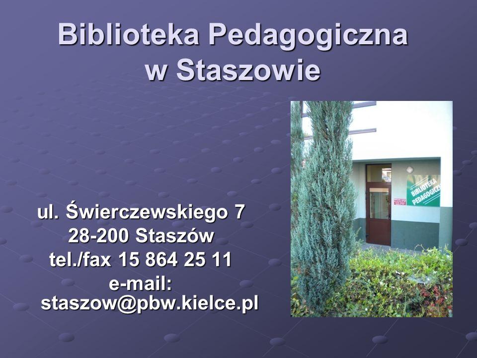 Biblioteka Pedagogiczna w Staszowie