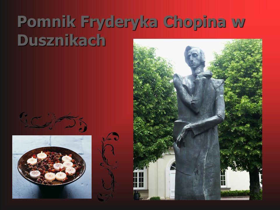 Pomnik Fryderyka Chopina w Dusznikach