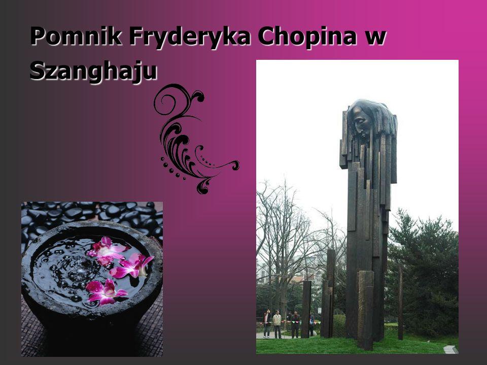 Pomnik Fryderyka Chopina w Szanghaju