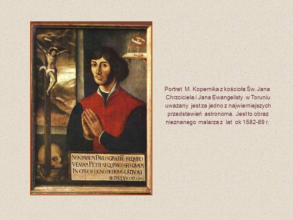Portret M. Kopernika z kościoła Św