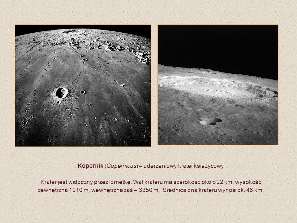 Kopernik (Copernicus) – uderzeniowy krater księżycowy