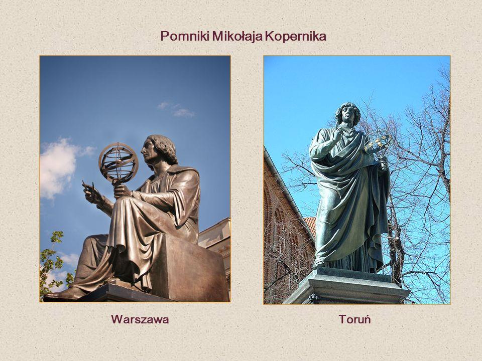 Pomniki Mikołaja Kopernika