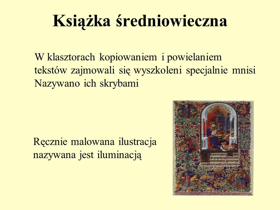 Książka średniowieczna