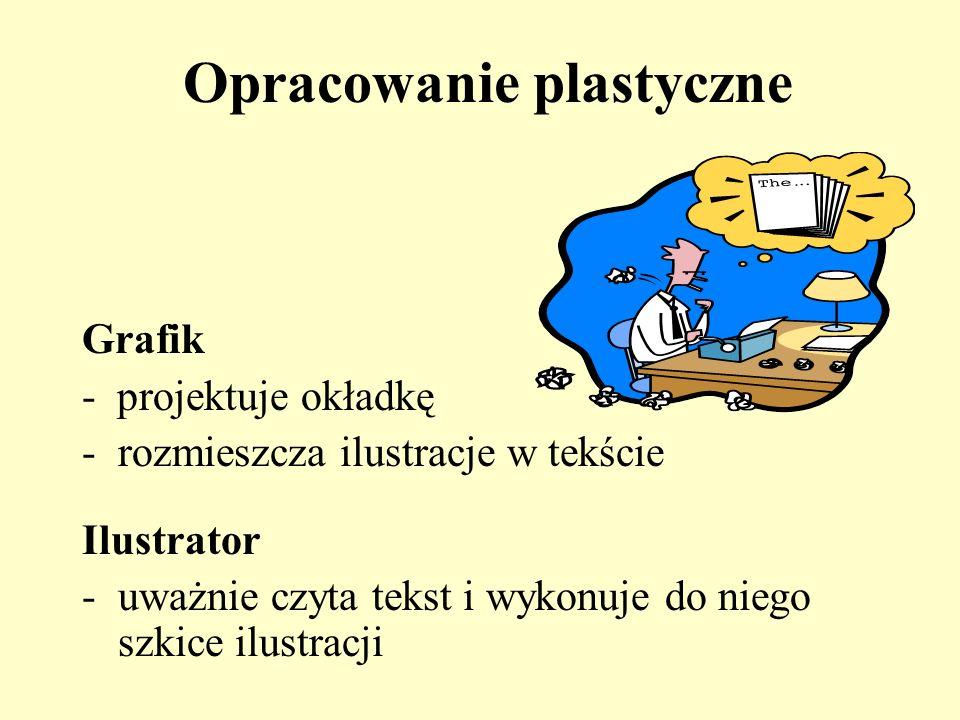Opracowanie plastyczne