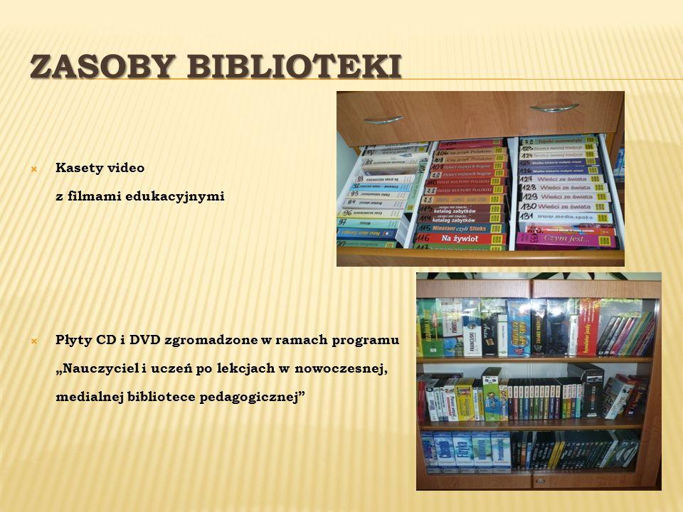 Zasoby Biblioteki Kasety video z filmami edukacyjnymi