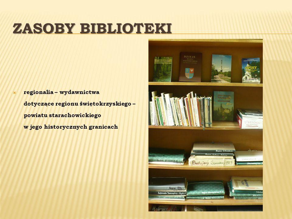 Zasoby Biblioteki regionalia – wydawnictwa