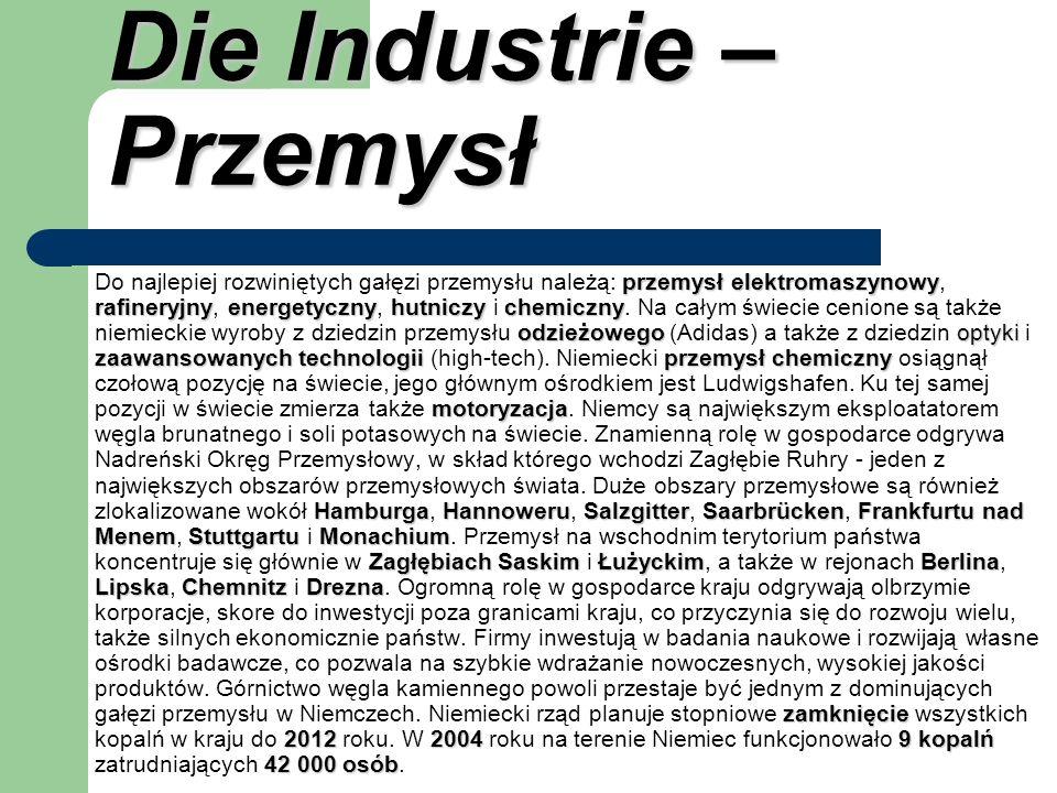 Die Industrie – Przemysł