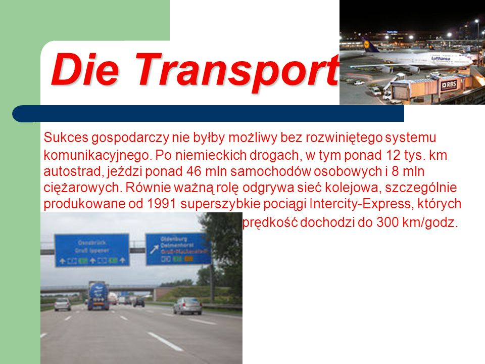 Die Transport