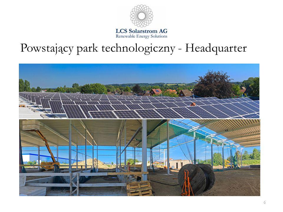 Powstający park technologiczny - Headquarter