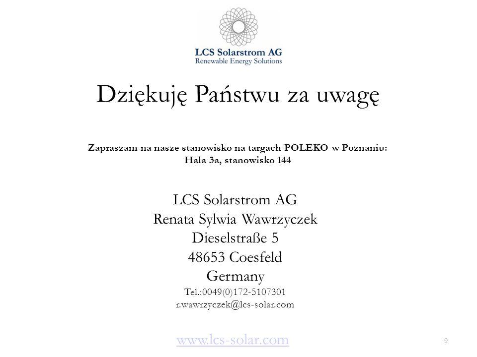 Zapraszam na nasze stanowisko na targach POLEKO w Poznaniu: