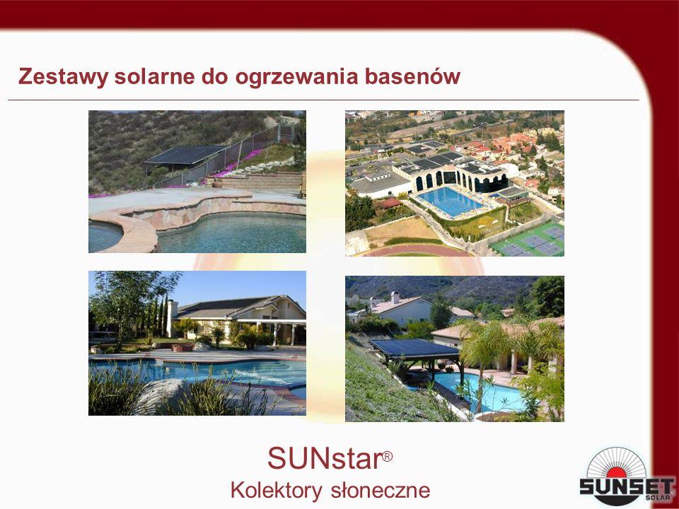 Zestawy solarne do ogrzewania basenów
