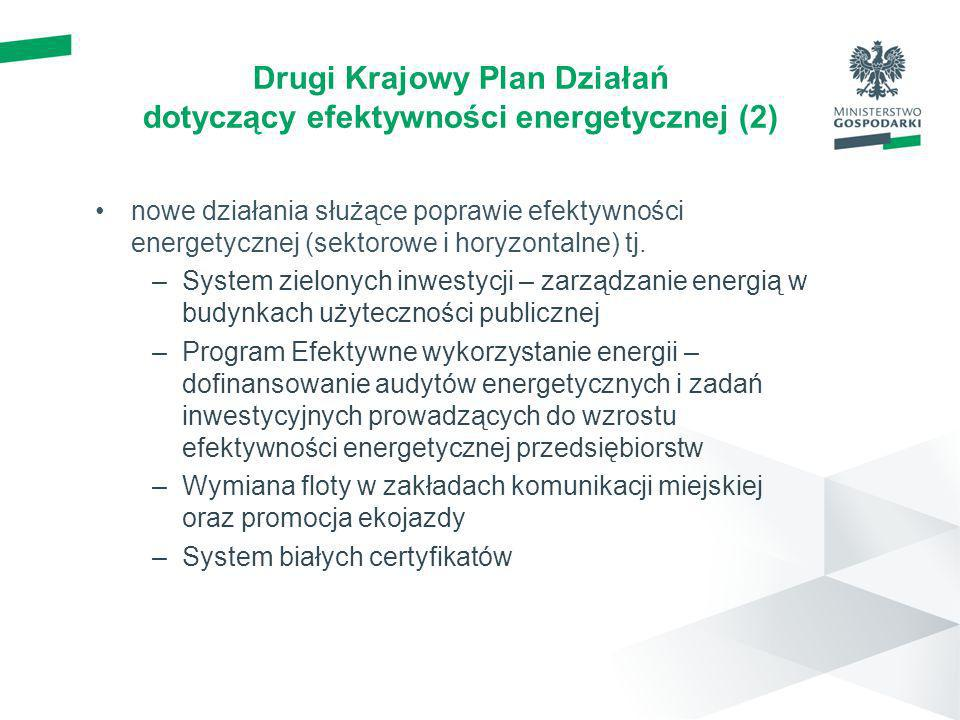 Drugi Krajowy Plan Działań dotyczący efektywności energetycznej (2)