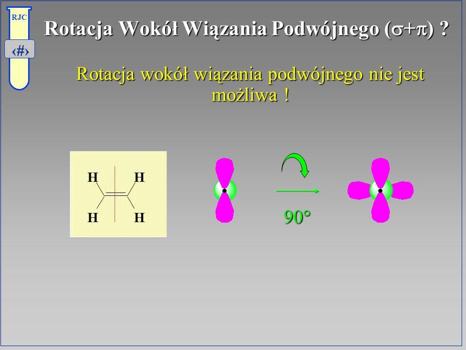 Rotacja Wokół Wiązania Podwójnego (s+p)