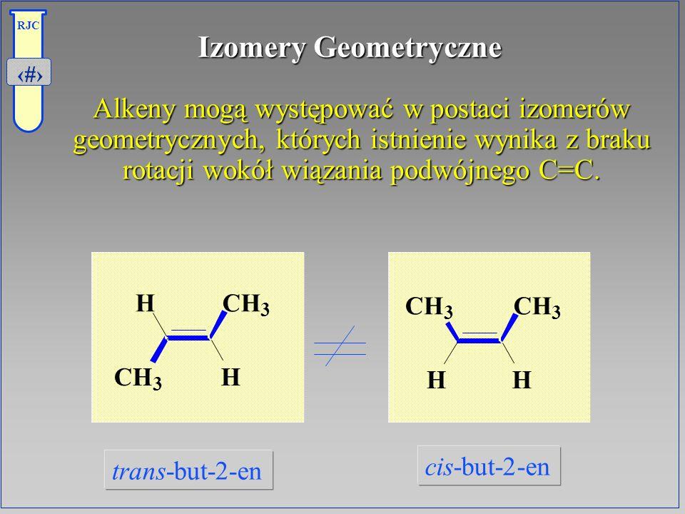 Izomery Geometryczne