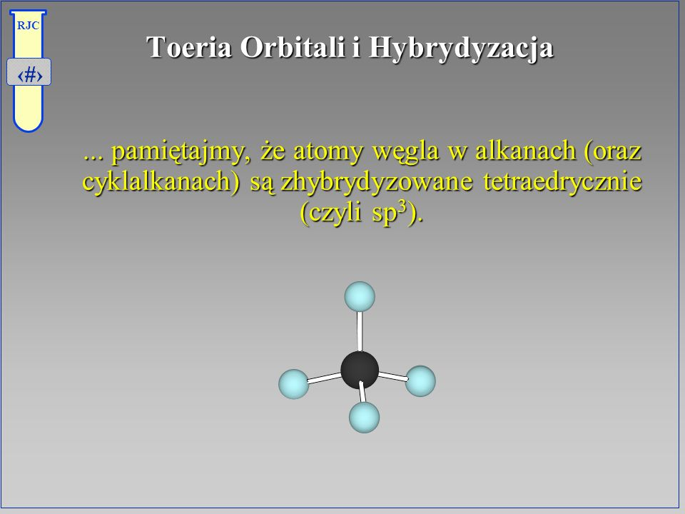 Toeria Orbitali i Hybrydyzacja