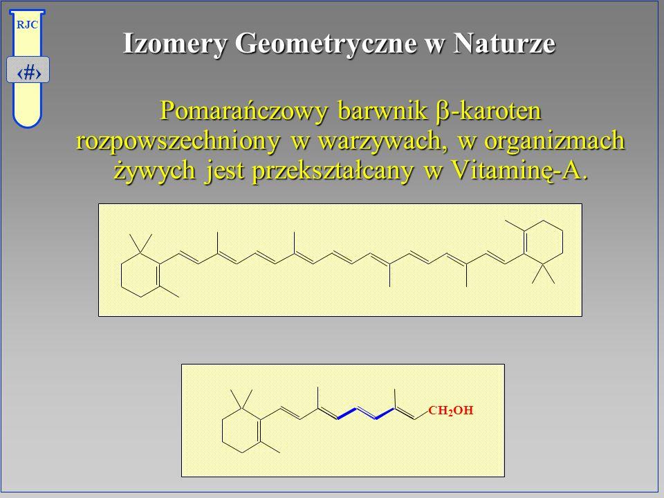 Izomery Geometryczne w Naturze