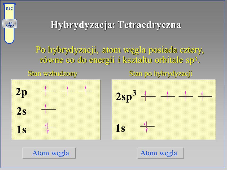 Hybrydyzacja: Tetraedryczna