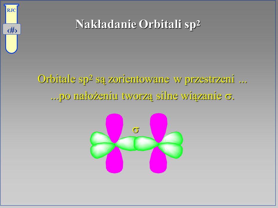 Nakładanie Orbitali sp2