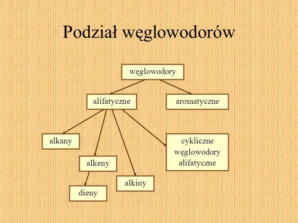 cykliczne węglowodory alifatyczne