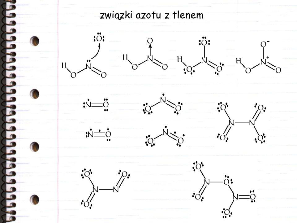 związki azotu z tlenem