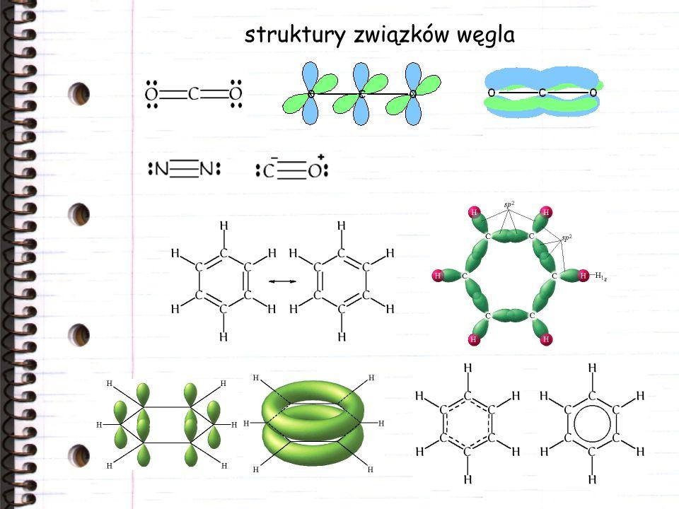 struktury związków węgla