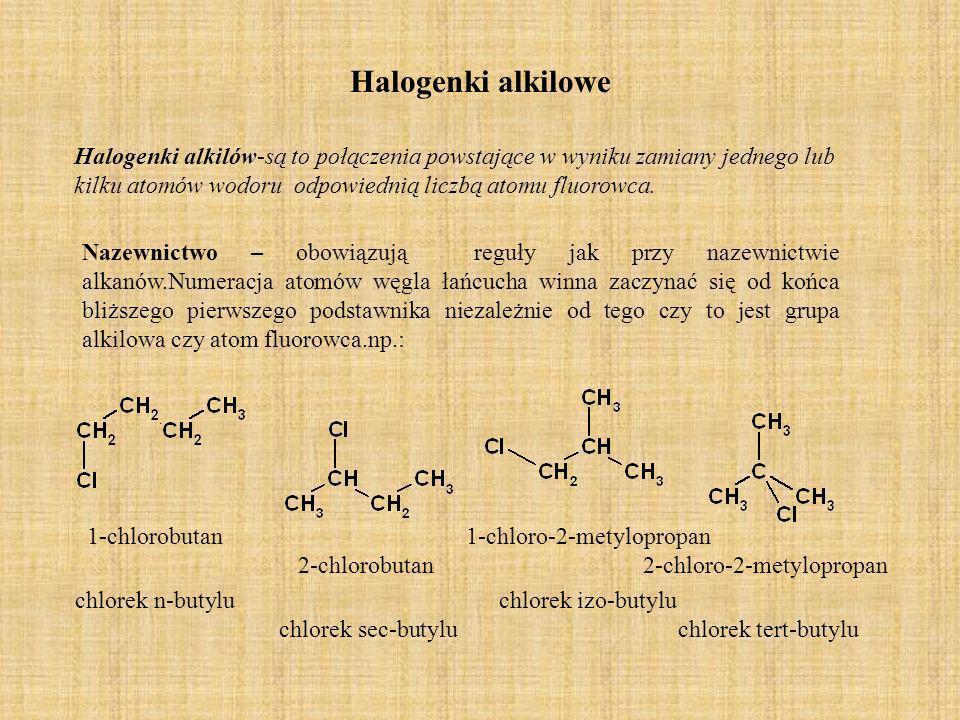 Halogenki alkilowe