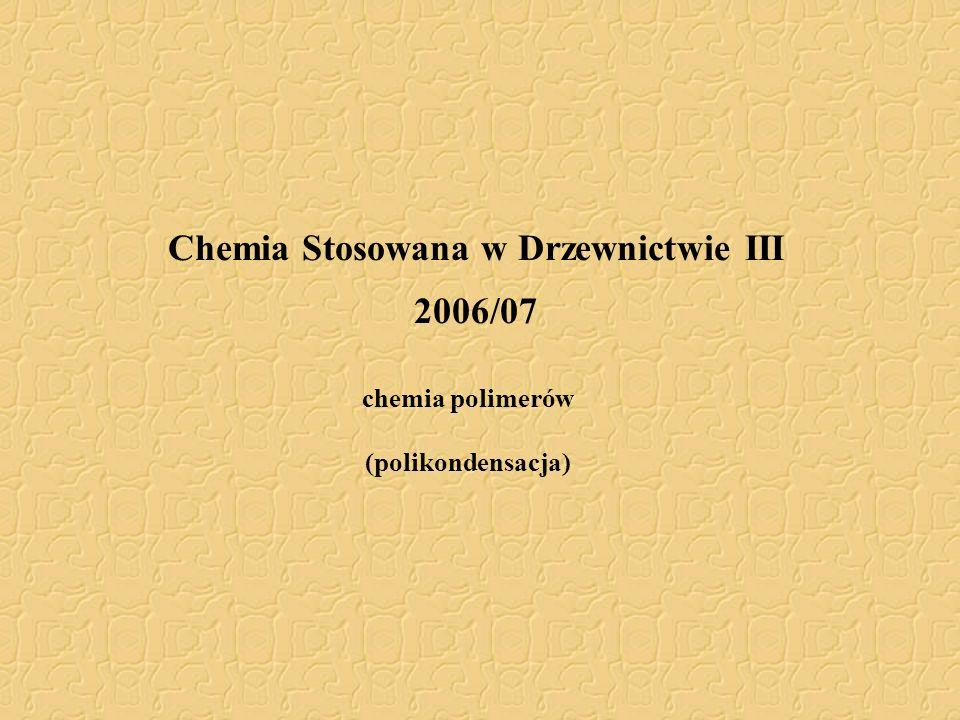 Chemia Stosowana w Drzewnictwie III 2006/07