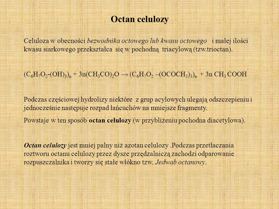 Octan celulozy